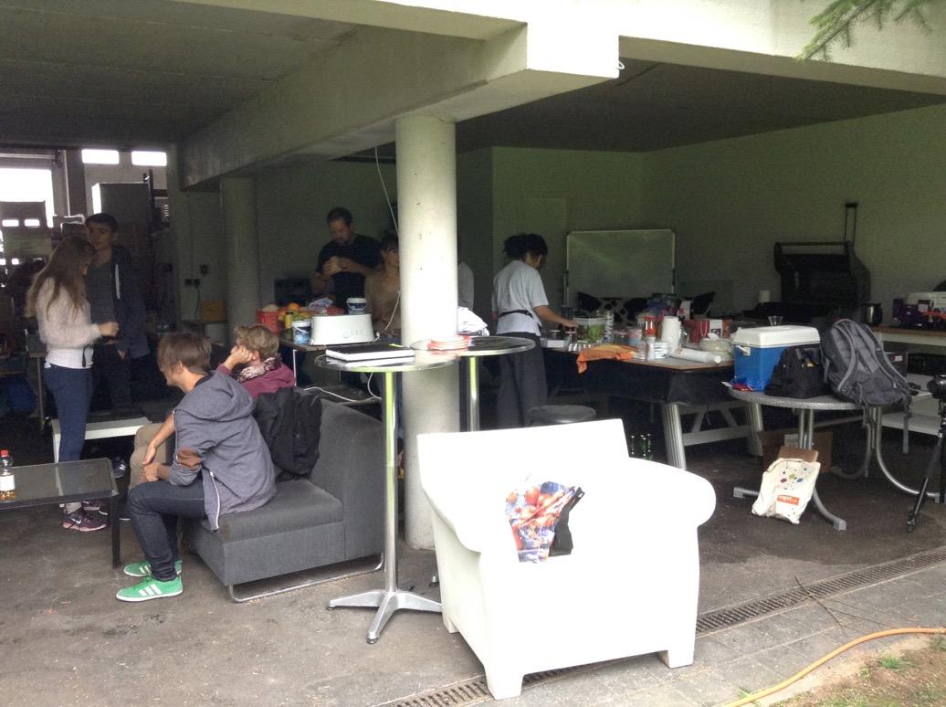 Catering und Ausstattung