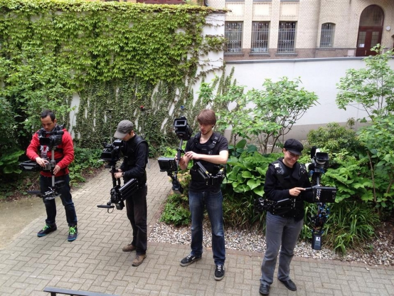 Steadicam-Workshop SAE Leipzig 1